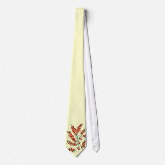 Beautiful vintage flower neck tie
