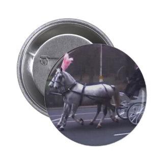 Beautiful Vintage Funeral Pinback Button