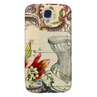 beautiful vintage historical design galaxy s4 cover