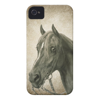 Beautiful Vintage Horse Art iPhone 4 Case