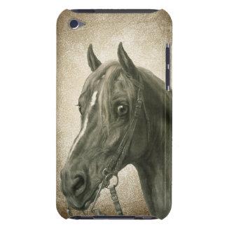 Beautiful Vintage Horse Art iPod Case-Mate Case