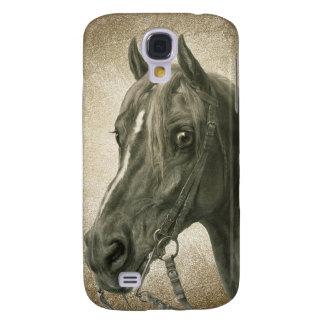 Beautiful Vintage Horse Art Samsung Galaxy S4 Case