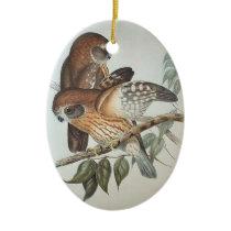 Beautiful Vintage Owl Ornament