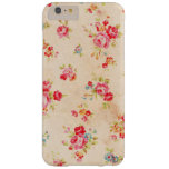 Beautiful vintage roses and other flowers barely there iPhone 6 plus case