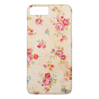 Beautiful vintage roses and other flowers iPhone 7 plus case