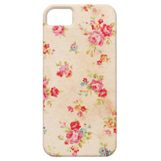 Beautiful vintage roses and other flowers iPhone SE/5/5s case