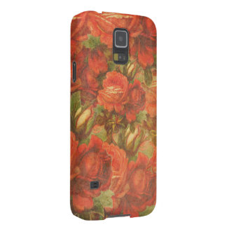 Beautiful Vintage Roses Gunge Case For Galaxy S5