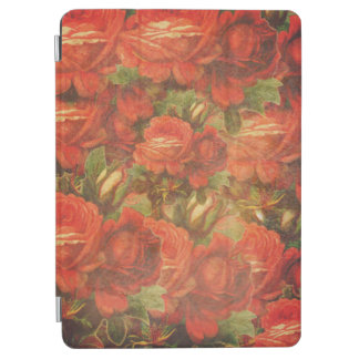 Beautiful Vintage Roses Gunge iPad Air Cover