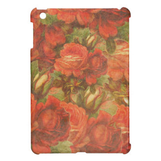 Beautiful Vintage Roses Gunge iPad Mini Cases