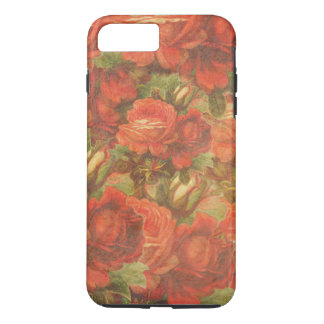 Beautiful Vintage Roses Gunge iPhone 8 Plus/7 Plus Case