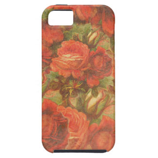 Beautiful Vintage Roses Gunge iPhone SE/5/5s Case