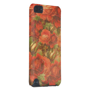 Beautiful Vintage Roses Gunge iPod Touch (5th Generation) Case