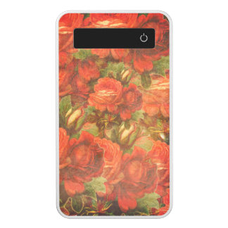 Beautiful Vintage Roses Gunge Power Bank