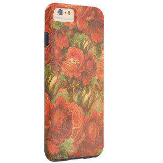 Beautiful Vintage Roses Gunge Tough iPhone 6 Plus Case