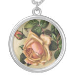Beautiful Vintage Roses Necklace