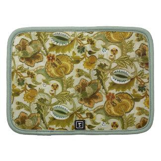 Beautiful Vintage Silk Embroidery Pattern Organizer