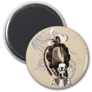 Beautiful Vintage Skeleton Magnet