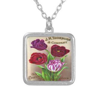 Beautiful Vintage Tulips Custom Jewelry