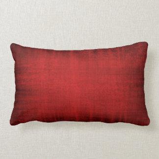 Beautiful Vintage Velvet Look Cushion in Red