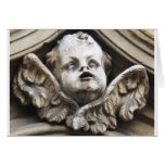 Beautiful Vintage Victorian angel statue Cards