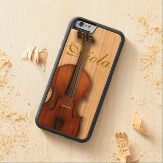 Beautiful Viola Phone Case Carved® Cherry iPhone 6 Bumper