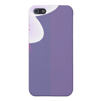 Beautiful violet blossom wedding gift iPhone 5 case