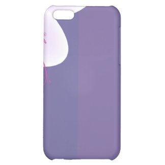 Beautiful violet blossom wedding gift iPhone 5C case