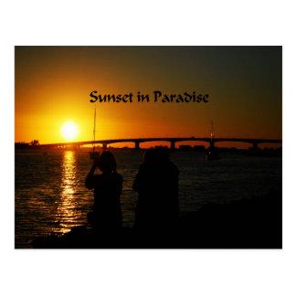 Beautiful Virginia Sunset Postcard