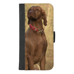 Wallet Case with Vizsla Phone Cases design