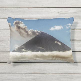 Beautiful volcanic activity outdoor pillow