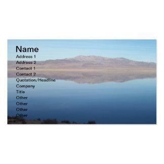 Beautiful Walker Lake Business Card Template