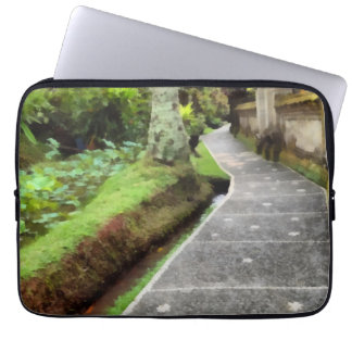 Beautiful walking path computer sleeves