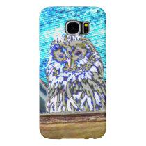 Beautiful Watching Owl Samsung Galaxy S6 Case