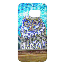 Beautiful Watching Owl Samsung Galaxy S7 Case