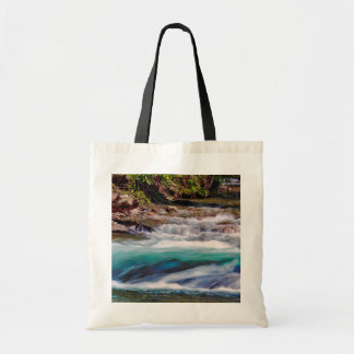 Beautiful Water Creek Landscape Photo Budget Tote Bag