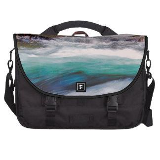 Beautiful Water Creek Landscape Photo Laptop Messenger Bag