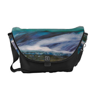 Beautiful Water Creek Landscape Photo Messenger Bags