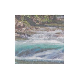 Beautiful Water Creek Landscape Photo Stone Magnet