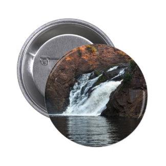 Beautiful Water Fall Pinback Buttons