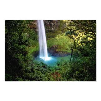 Beautiful Water Fall Photo Print
