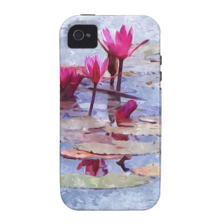 Beautiful Water Lily 1 iPhone 4 Cases