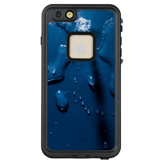 Beautiful water splashes viewed from above LifeProof FRĒ iPhone 6/6s plus case