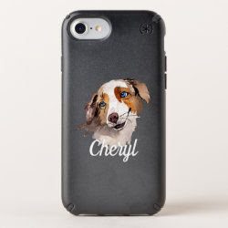 Speck Presidio iPhone 8/7/6s/6 Case with Australian Cattle Dog Phone Cases design