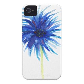 Beautiful watercolor blue windflower Case-Mate iPhone 4 case