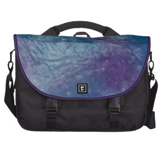 Beautiful watercolor purple and blue laptop bag