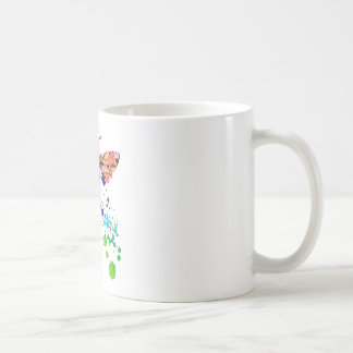 Beautiful Watercolor Rainbow HoneyBee Coffee Mug