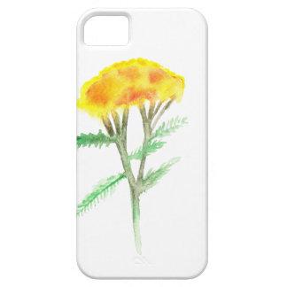 Beautiful watercolor yellow gaillardia iPhone 5 cover