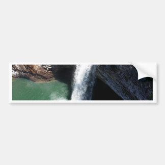 Beautiful Waterfall Bumper Sticker