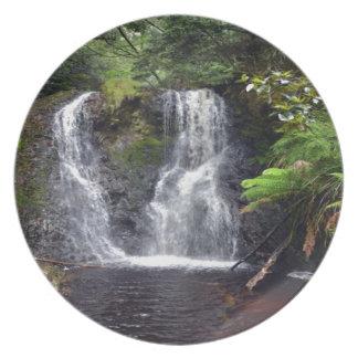 Beautiful Waterfall Dinner Plate