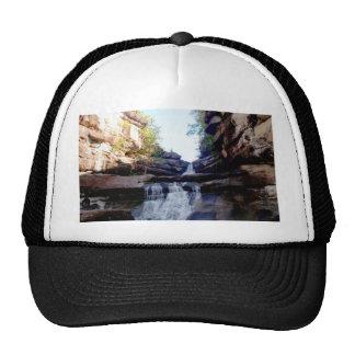 Beautiful  waterfall trucker hat